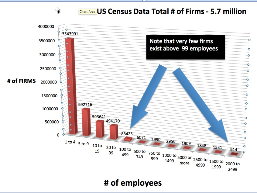 US Census small firms to large