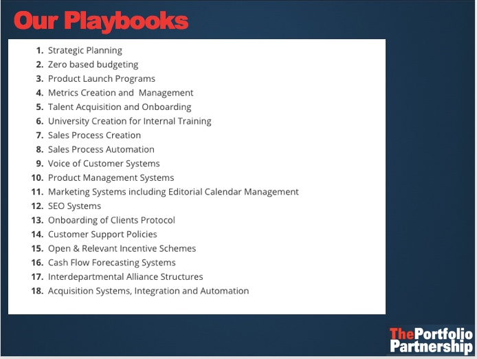 Playbooks